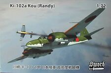 Sword 1/72 SW72103 Kawasaki Ki-102a Kou (Randy)  model kit