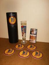 """ancien / vintage - verre à bière RITZENHOFF - DAMIEN LIGIER """"Le Roi et sa Dame"""""""