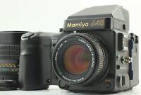 【NEAR MINT】 Mamiya M645 Super + Sekor C 80mm f/2.8 150mm f/3.5 N From Japan 940