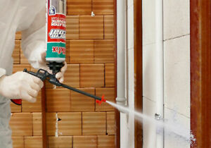 Akfix ThermCoat Pack Heat and Acoustic Insulation Spray Foam Kit + Foam Cleaners