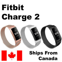 For Fitbit Charge 2 Band Milanese Stainless Replacement Watch Strap Bracelet