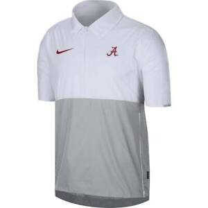 NEW Alabama Crimson Tide Nike 1/2 Zip Pullover On Field Jacket Men's Size XL