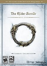 The Elder Scrolls Online: Tamriel Unlimited - PC-MAC Free Ship!!!