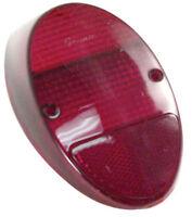 EMPI VW Bug Rear Tail Light Lens 1962-67 Red Style Each 98-1075 111945241D