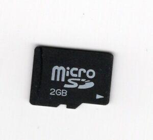 2GB MicroSD MicroSDHC Memory Card