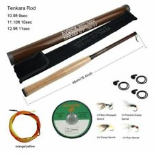Aventik Tenkara rod fishing combo 10'8''/11'10''/12'9'' Fishing rod line flies