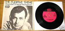 JOHN SCHROEDER ~ THE FUGITIVE THEME b/w DON'T BREAK THE HEART ~UK PICCADILLY  7""