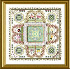10% Off Chatelaine Counted X-stitch Chart - The Rosarium Mandala