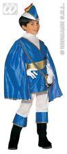 CARNEVALE COSTUME PRINCIPE AZZURRO BAMBINO 11/13 ANNI