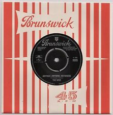60s MOD 45 THE WHO - ANYWAY ANYHOW ANYWHERE / DADDY ROLLING STONE - REISSUE