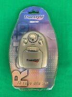 NOS, TrueStyle MX117 FM Radio w Auto Scan and Headphones, True Style
