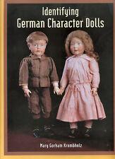ID German Character Dolls Mary Krombholz, NEW book Kestner, Armand Marseille