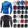 Men Compression Tops Thermal Long Sleeve T-Shirt Tops Tee Under Base Layer Tee
