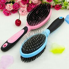 New Pet Massage Comb Double Sided Dog Cat Hair Fur Grooming Cleaning Brush Tools