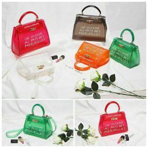 Ladies transparent bag Posh Designer Un Voyage Au Pays Tote Bag crossbody bag