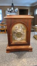 Vintage wind up Old Wood D.R.P Clock Movement Chimes