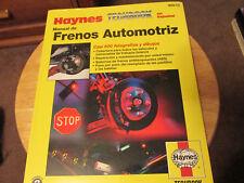 Haynes Repair Manuals Automotive Brake Manual (Spanish Language) # 98910 HAYNES