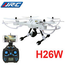 JJRC H26W 2.4GHz 6 Axis Gyro Drone RC Quadcopter RTF Wifi FPV 2MP Camera White