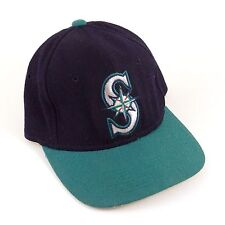 Baseball Cap Hat SEATTLE MARINERS Navy/Green The Pro Genuine Merch. Size 6 5/8 S