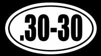 .30-30 Vinyl Decal Sticker Car Window Wall Bumper Gun Ammo 7.62x51 Lever Rifle