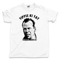 Yippee Ki Yay Mother F*cker T Shirt Die Hard Bruce Willis John McClane Movie Tee