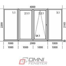 Tür Terassentür PVC Schiebefenster 4000 x 2200 mm Balkon Fenster nach Maß Polen