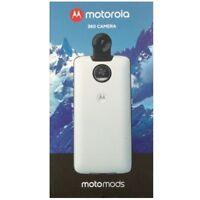 Motorola Moto Mods 360 Camera Mod White 89566N For Moto Z