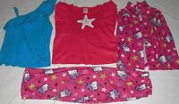 GIRL CLOTHES LOT OF 3 ITEMS BLOUSE TOP PAJAMA SIZE 6