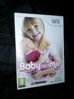 Baby and Me Nintendo Wii Video Game complete with instructions manual