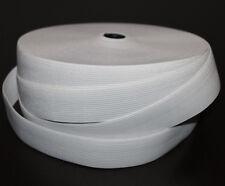 1 m Gummiband 40 mm 4 cm Weiss hohe Zugkraft gewebt Rock Kleid Gürtel