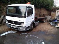 Mercedes antego hiab lorry