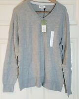 Men's V-Neck Sweater - Goodfellow & Co - Gray - L