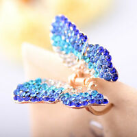 Fashion Hair Clip Women Girl Butterfly Claw Crystal Rhinestone Clamp Hairpin Jaw