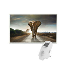 Eldstad Infrarotheizung 600 Watt Bildheizung Thermostat Heizpaneel Heizung Motiv