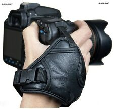 Leder Handschlaufe Handgriff Lederhandschlauf für Canon DSLR Kamera