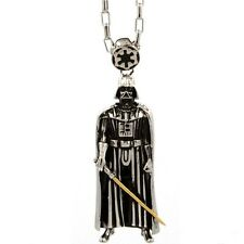 $75 Han Cholo x Star Wars Darth Vader Pendant Necklace silver HCSW10SIL