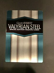2017 Cryplozic Game of Thrones Valyrian Steel Special Edition Season 6 # CT-1