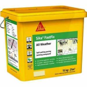 Sika Fast Fix All Weather Self Setting Jointing Compound  ORIGINAL BUFF