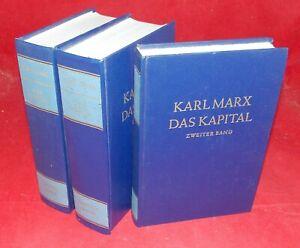 Karl Marx - Das Kapital Band 1-3 - Dietz Verlag 1977/1978