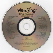 Wee Sing - 25th Anniversary Celebration © 2002 CD Good cond. All Verified +BONUS