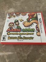 Mario And Luigi Bowsers Inside Story + Bowser JR's Journey 3DS - Free Shipping