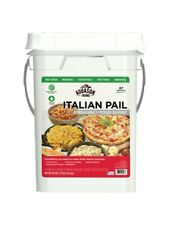 Auguson Farms Italian Variety Emergency Food in 25yr Storage Pail  87 Servings