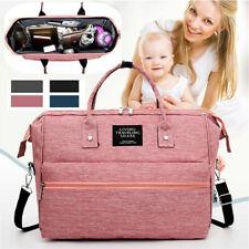 Baby Wickeltasche Schultertasche Multi unterwegs Große Kapazität Babytasche