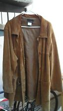 Via Accenti Woman's 100% Leather Coat / Jacket Size C2 (3X)