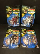 Trendmasters Godzilla Force King Of The Monsters 1994 Action Figures Lot (4)