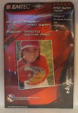 EMTEC PS240P PHOTO PAPER PRO SATIN A4  240G 15 FOGLI