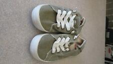 Roxy Surf Canvas Sneakers Womens Green Size 9