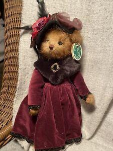 NEW! Bearington Bears TASHA TEABEARY 179826 Victorian Bear Teddy  Retired