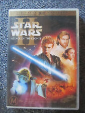 Dvd Star Wars Attack Of The Clones 2-Disc Edition Great * Must See *