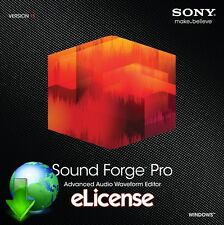 Sony Sound Forge Pro 11 3PC **DigitaI**